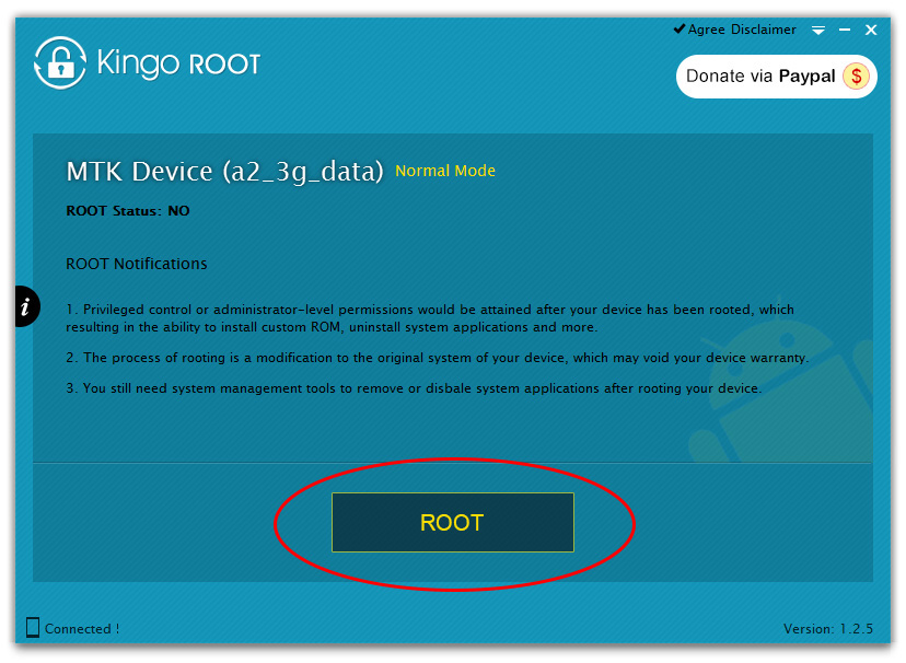 How to root android phone on PC