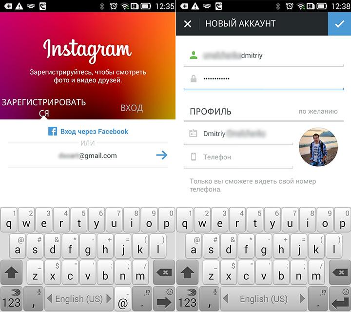 Как установить Инстаграм на Андроид