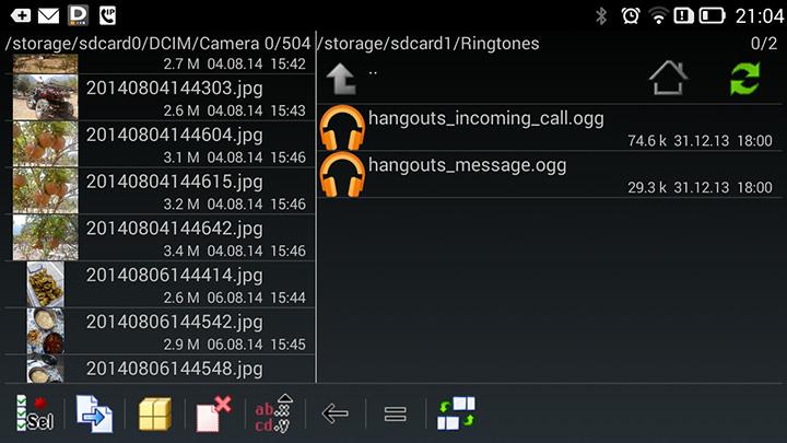 Какой файловый менеджер установить на Андроид Total Commander 001