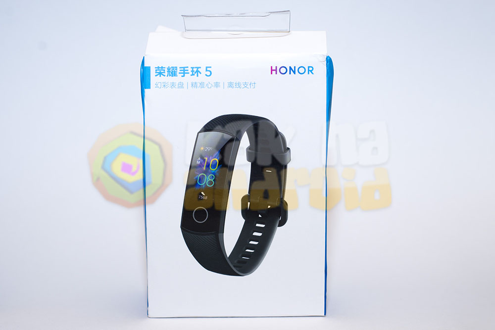 Упаковка Honor Band 5 - заказ на Aliexpress