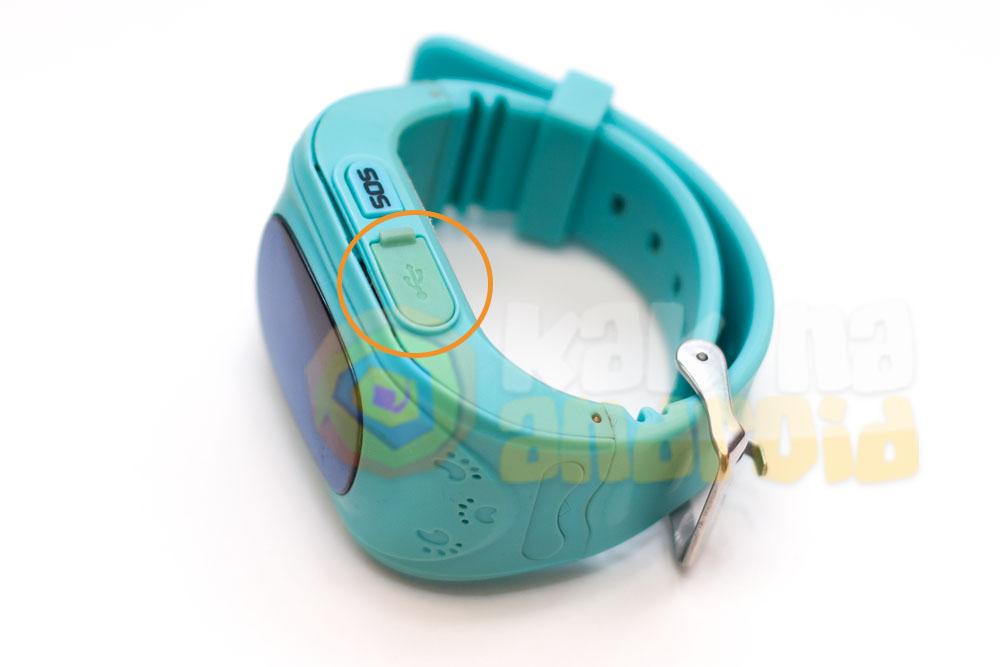 Как заряжать часы Q50 Smart Baby Watch