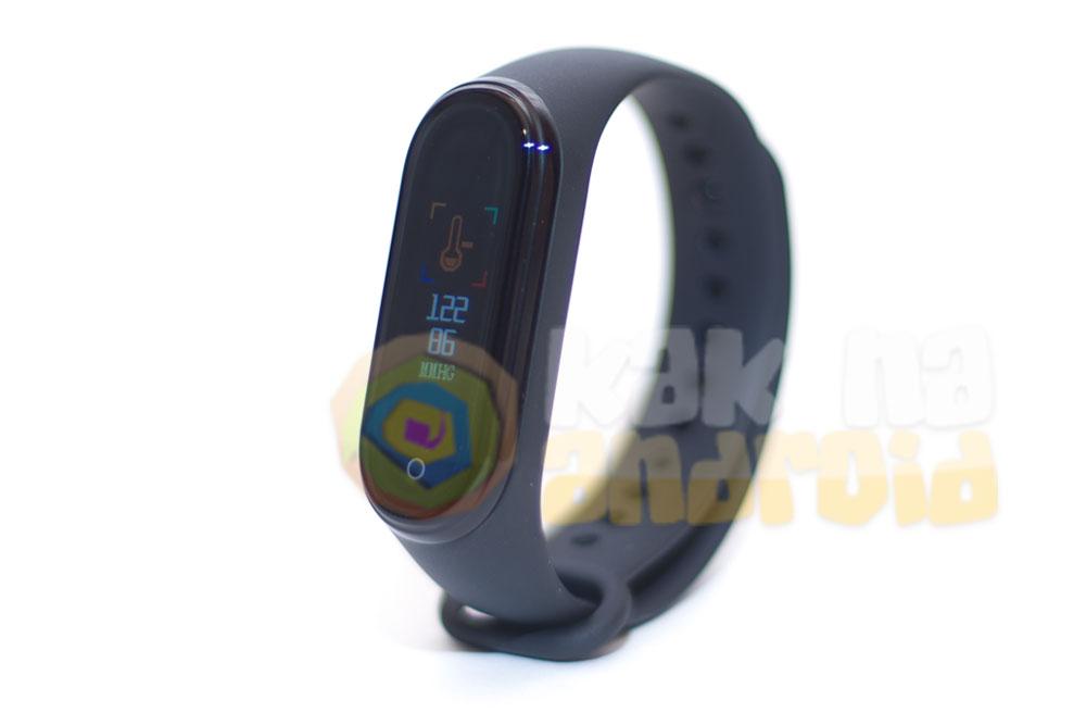 Smart Bracelet M4 - инструкция на русском - измерение давления