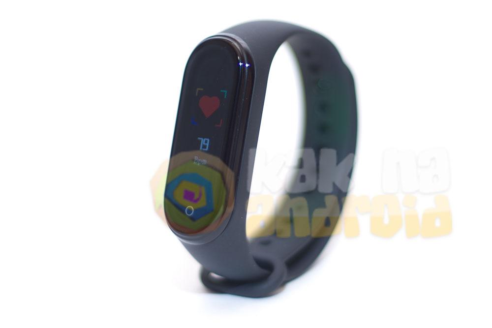 Smart Bracelet M4 - инструкция на русском - измерение пульса
