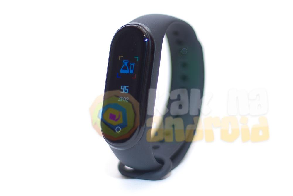 Smart Bracelet M4 - инструкция на русском - измерение уровня кислорода в крови