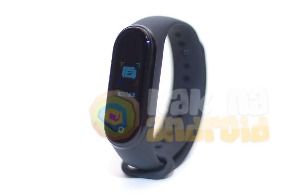 Smart Bracelet M4 - инструкция на русском - новые уведомления