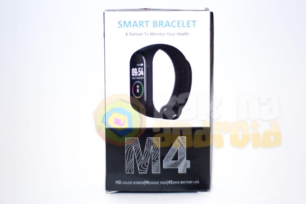 Smart Bracelet M4 - инструкция на русском - упаковка
