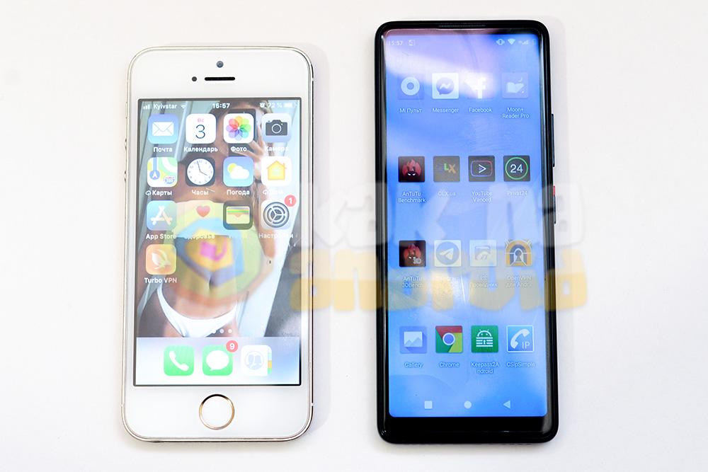 Сравнение Xiaomi QIN 2 и iPhone 5s
