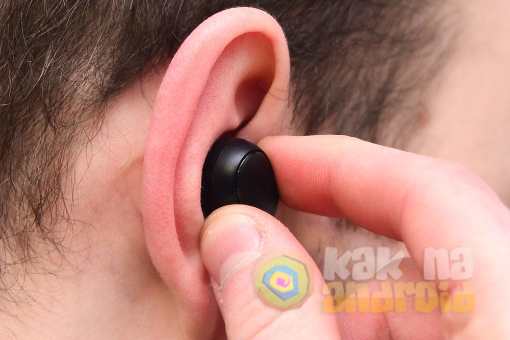 Как правильно вставлять AirDots в уши