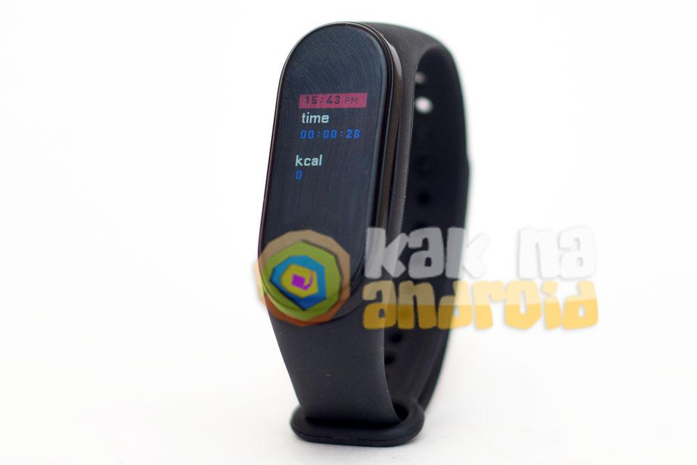 Smart Bracelet M5 - занятия спортом