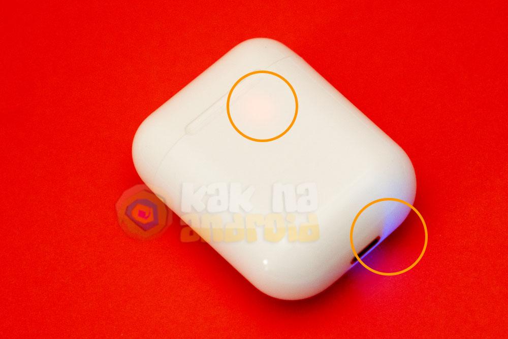 Как зарядить i9s TWS наушники